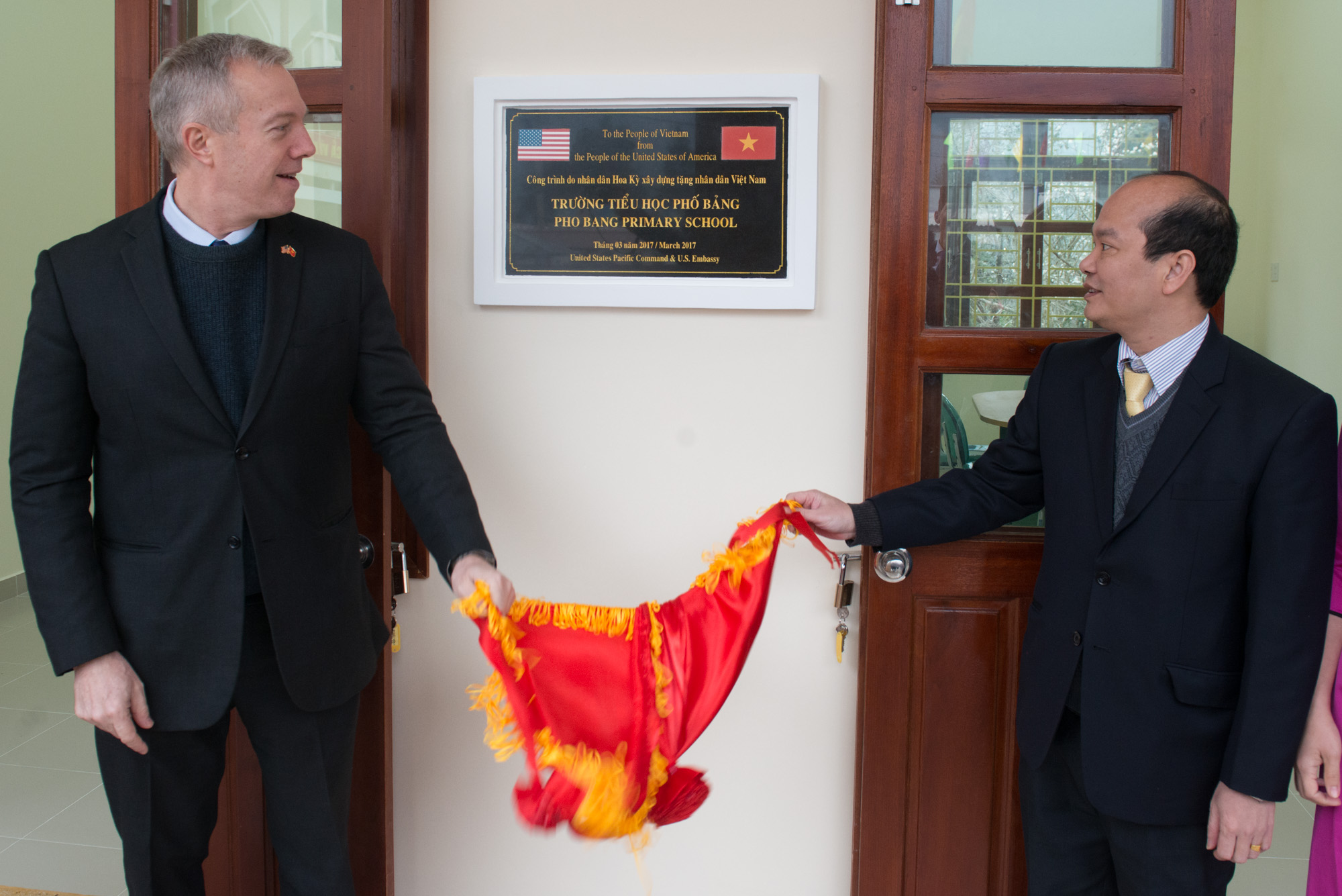 New US-constructed school inaugurated in Ha Giang province
