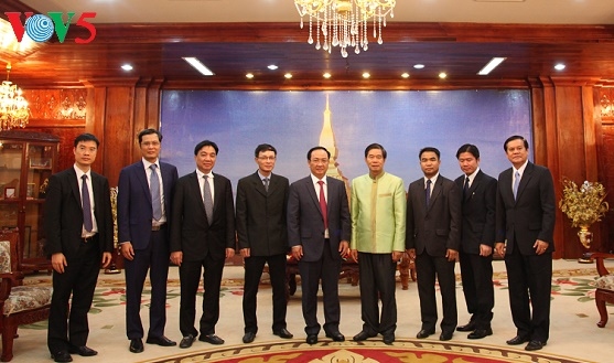Hanoi, Vientiane beef up ties