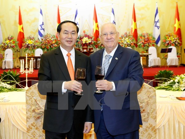 President: Vietnam-Israel cooperation enters new chapter