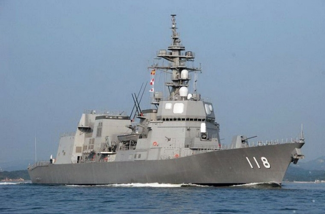 Japanese ship visits Cam Ranh