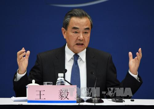 China underlines diplomatic solution to Korean peninsula's stand-off