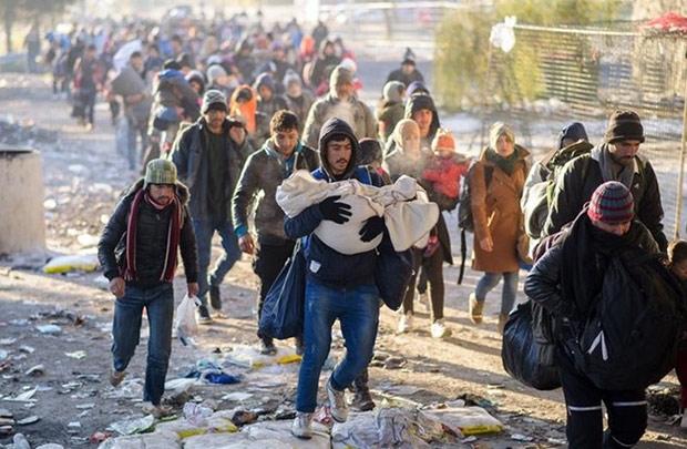 Flüchtlingskrise: Die dunkelen Farben im Bild der Welt 2016