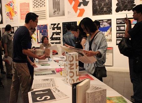 Goethe Institut Hanoi: Ausstellung über Grafikdesign und Typografie