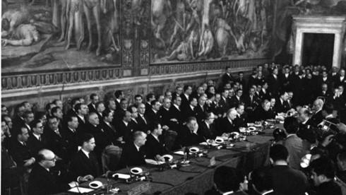 60 Jahre Römische Verträge - Symbol der Solidarität in der Vielfalt