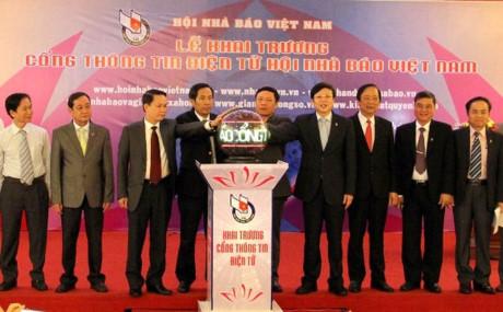 Eröffnung des Internetportals des vietnamesischen Journalistenverbandes