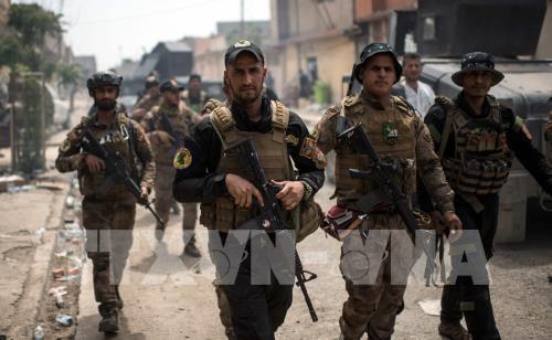 IS-Milizen attackieren die Konvois der irakischen Sicherheitskräfte
