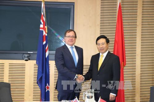Die Beziehungen zwischen Vietnam und Neuseeland auf neues Niveau heben