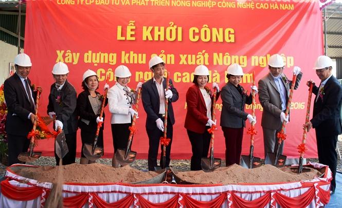 Provinz Ha Nam entwickelt die hochtechnologische Landwirtschaft