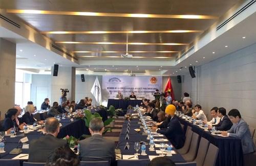 Eröffnung der Konferenz des APF-Ausschusses in Ho-Chi-Minh-Stadt