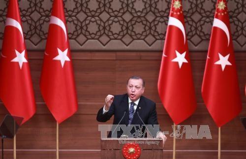EU bestellt türkischen Botschafter wegen der Rede von Präsident Erdogan ein