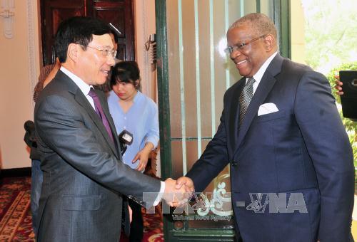 Vietnam will Beziehungen mit Angola ausbauen