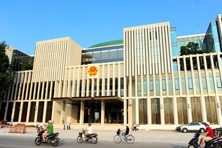 อาคารรัฐสภาใหม่ของเวียตนาม
