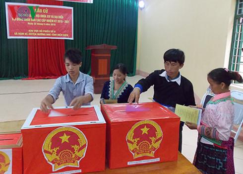 ท้องถิ่นต่างๆประกาศผลการเลือกตั้งสมาชิกรัฐสภาและสมาชิกสภาประชาชนทุกระดับ