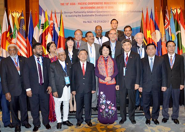 การประชุมรัฐมนตรีสหกรณ์ย่านเอเชียแปซิฟิกครั้งที่ 10