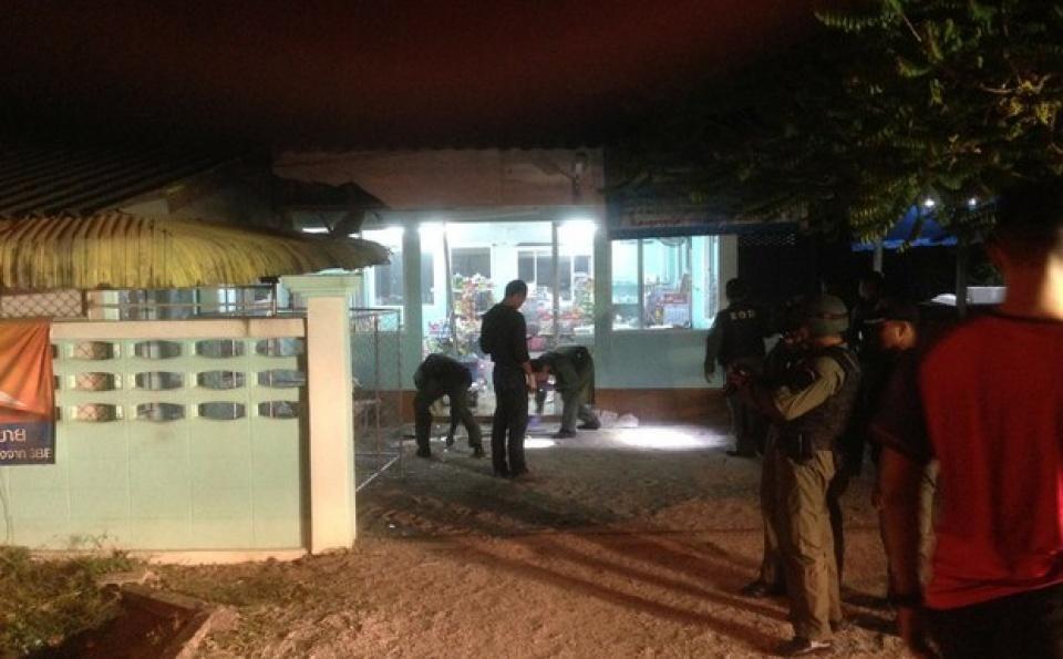 เกิดเหตุก่อความไม่สงบในพื้นที่หลายจุดในภาคใต้ประเทศไทย