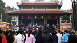 Huyen Tran Temple Festival promotes National Tourism Year