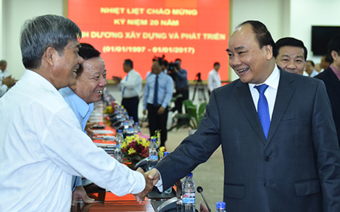 Binh Duong urged to become region's development and prosperity role model