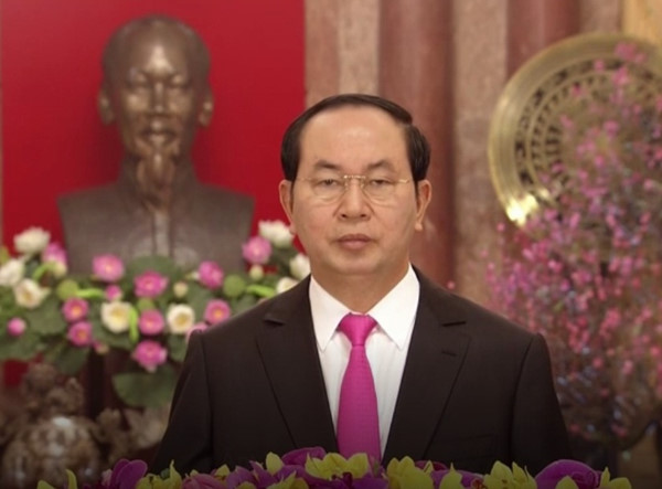 President Tran Dai Quang's New Year Greetings