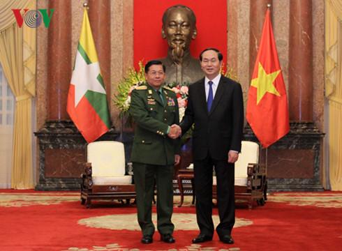 Vietnam considers Myanmar a top partner: State President