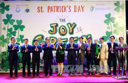 Hanoi becomes first SEA city to go green on St. Patrick's Day