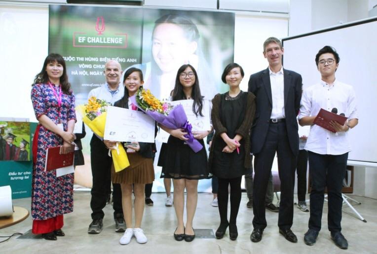 An Giang and Tay Ninh students win EF Challenge 2017