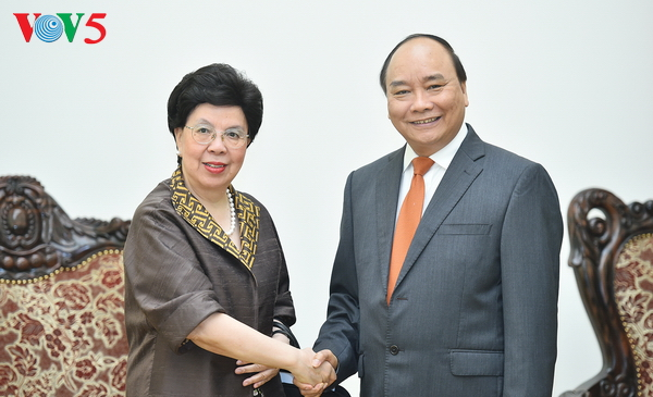WHO pledges further support for Vietnam