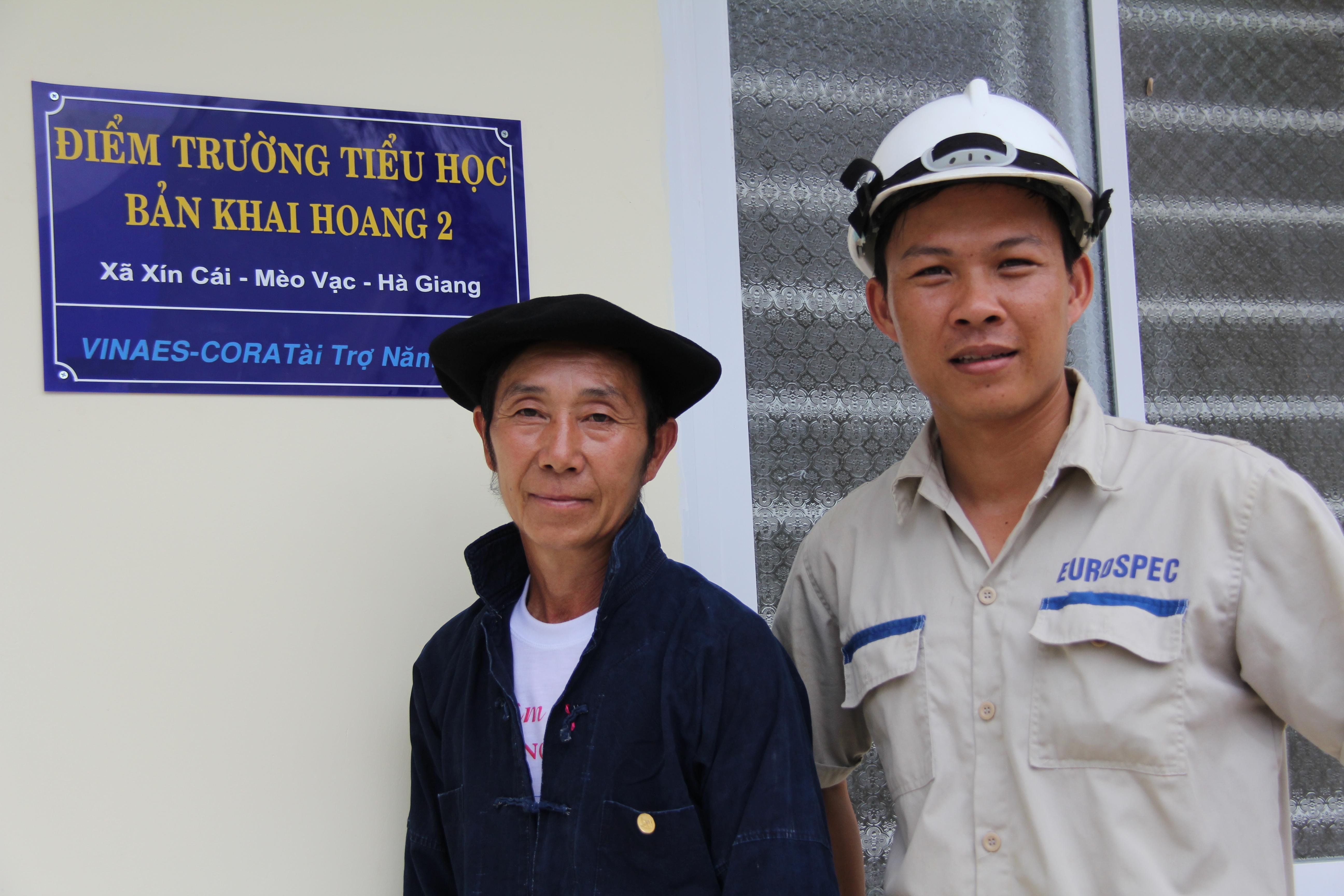 Ly Sin Sinh, a dedicated village chief