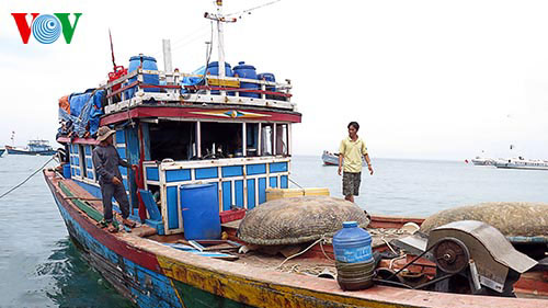 VOV helps fishermen