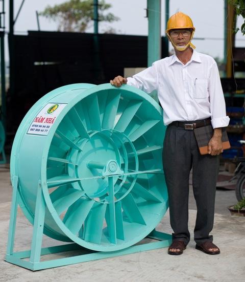 Nam Nha paddy dryer
