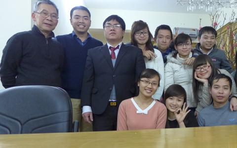 Professor Le Van Cuong, trainer of Vietnamese economists