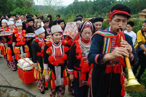 Panpipe playing at Dao weddings