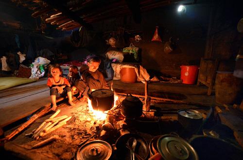 Black Ha Nhi people in Lao Cai