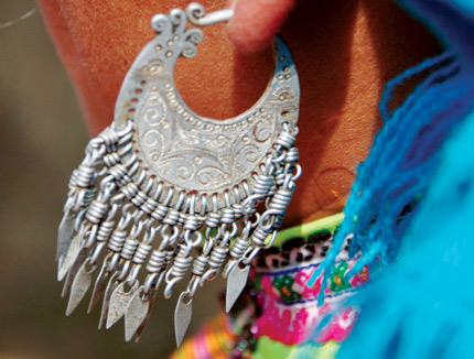 Earrings of the Mong in Son La