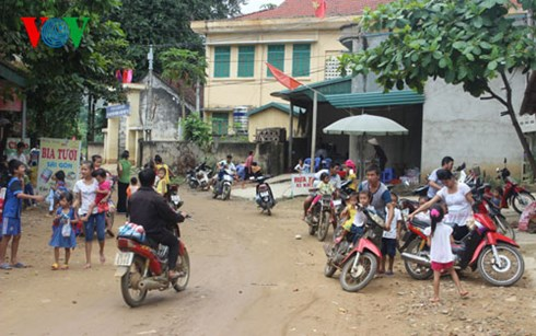 Changes in Muong Hung commune