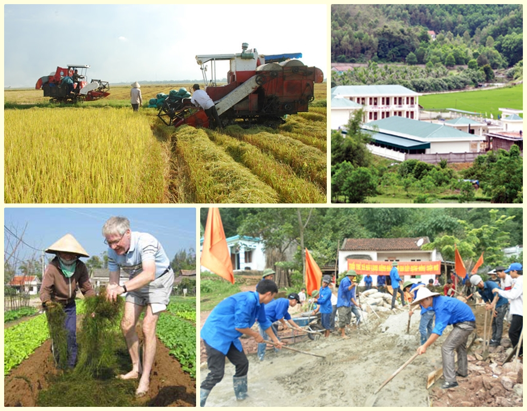 New rural development in Quang Ninh