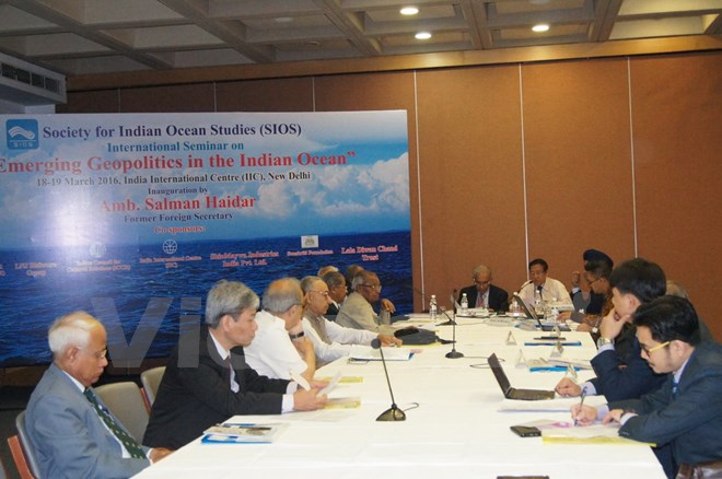 3/19/2016 - 14:09   (VOVworld) – An international seminar on emerging geopolitical issues in the Indian Ocean opened in New Delhi on Friday.    More