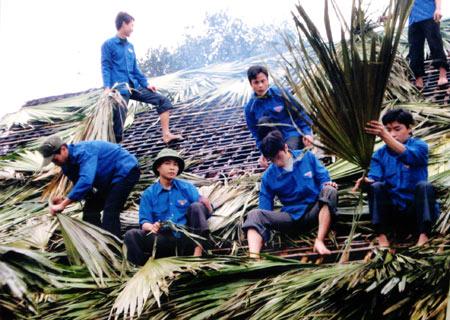 Youth volunteer activities in Quang Ninh