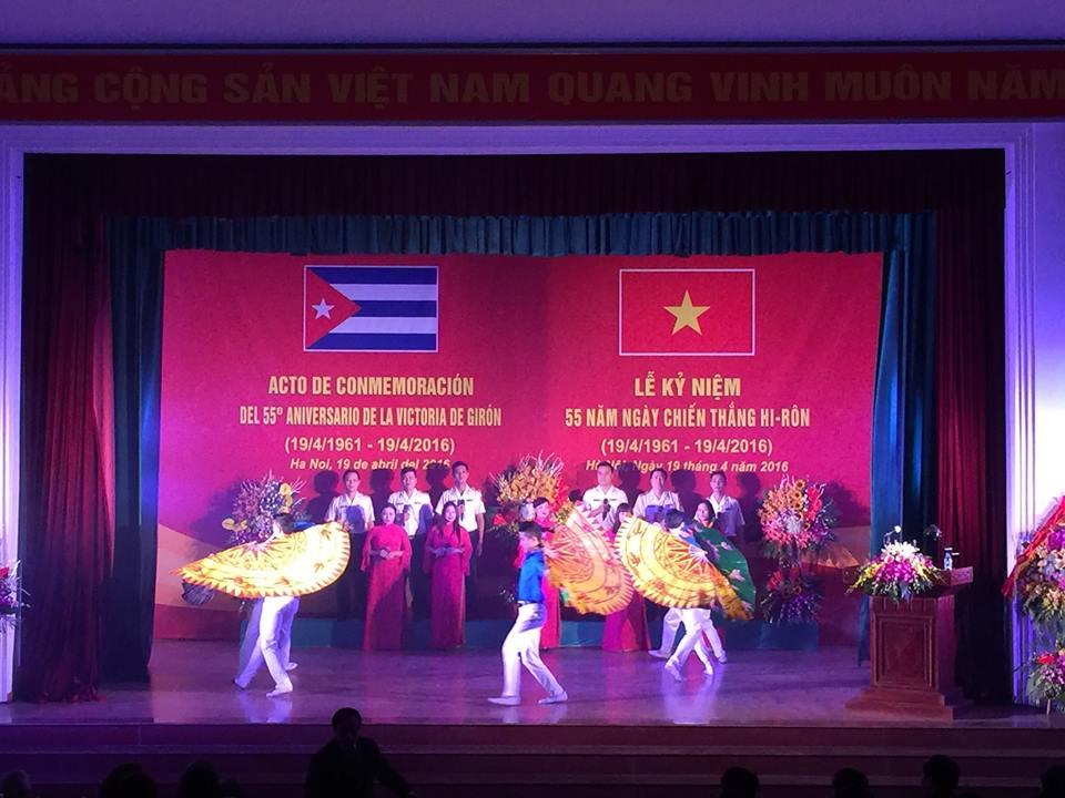 Vietnam marks 55th anniversary of Cuba's Giron Victory