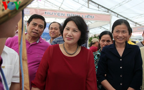 NA Chairwoman attends Quang Ninh OCOP fair