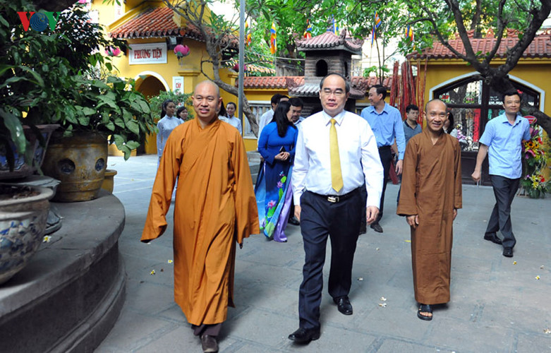 Strong development of Buddhism, evidence of religious freedom in Vietnam