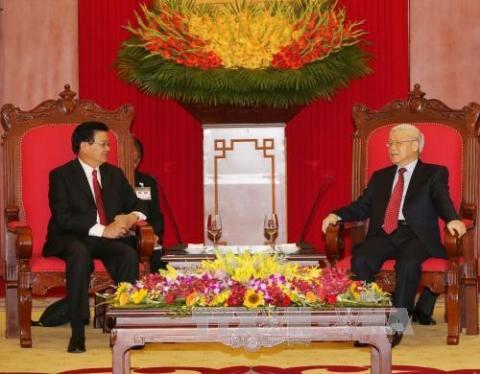 Laos's Prime Minister wraps up Vietnam visit