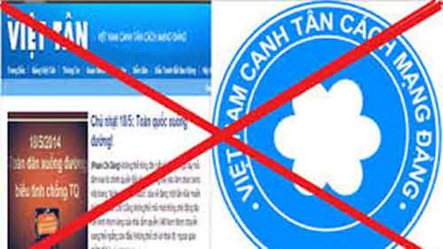 Viet Tan: terrorist and reactionary nature