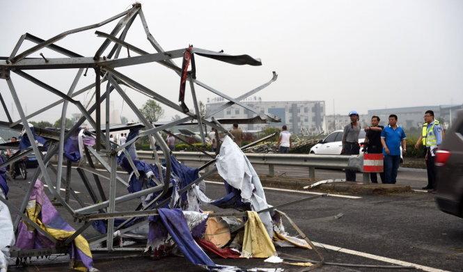 越南就中国发生龙卷风灾害致慰问电