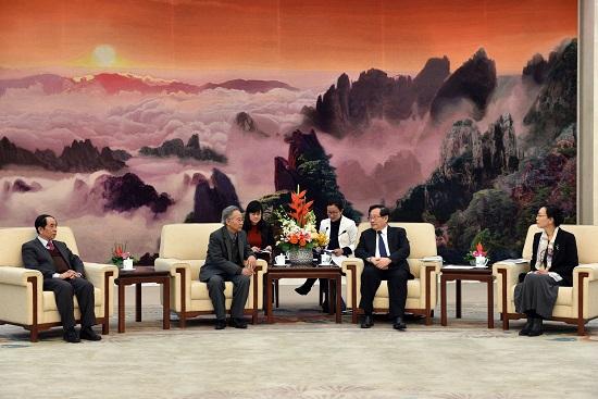 中国全国政协副主席会见出席越中人民论坛第8次会议的越南代表团