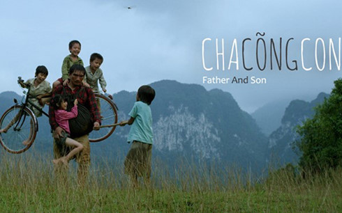 影片《父亲背着儿子》参加美国波士顿国际电影节