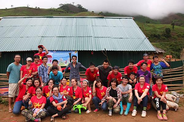 Помощь в строительстве школ для детей, живущих в отдаленных горных районах
