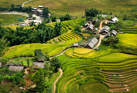 Базар для влюблённых в Шапе - одна из культурных традиций вьетнамской народности Монг