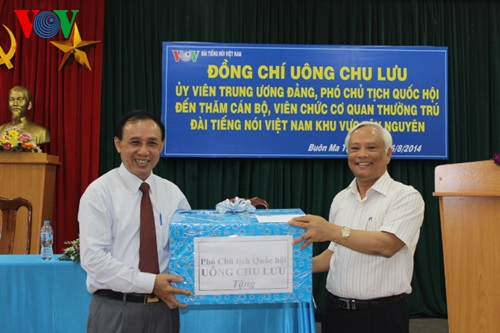 NA Vice Chairman visits VOV bureau in Central Highlands