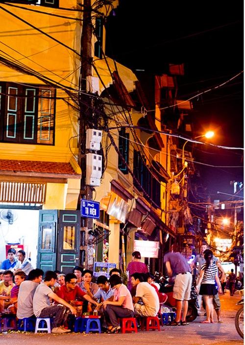 Cuisine in Hanoi's Old Quarter