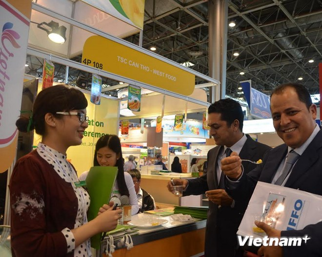 Vietnamese products showcased in France